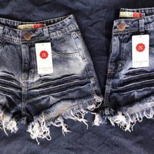 29978756e O queridinho das mulheres - Short Jeans Hot Pant  atacado  diretodafabrica   brasil